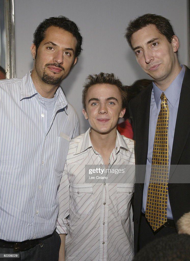 Producer Guy Oseary, Producer, Frankie Muniz and Mark Morgan, Executive Producer