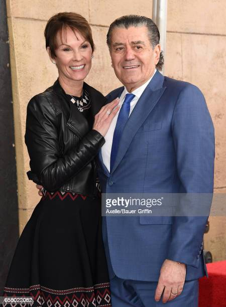 Producer Haim Saban and wife Cheryl Saban attend the ceremony honoring Haim Saban with star on the Hollywood Walk of Fame on March 22 2017 in...