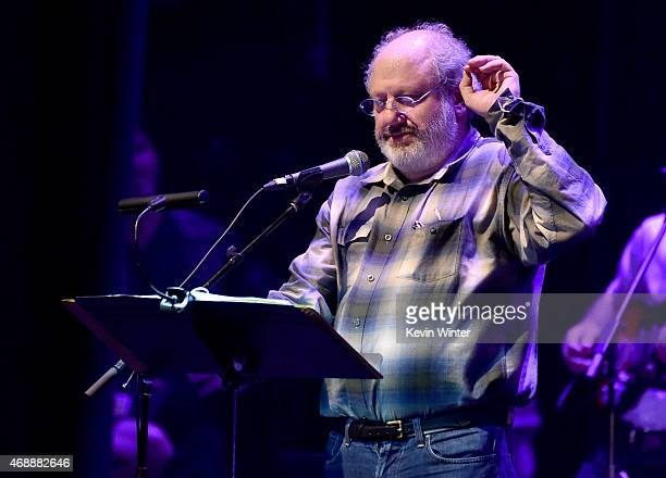 Producer Hal Willner attends The David Lynch Foundation's DLF Live Celebration of the 60th Anniversary of Allen Ginsberg's HOWL with Music Words and...
