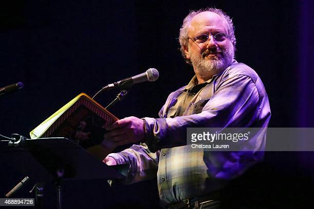 Producer Hal Willner performs at a celebration of the 60th anniversary of Allen Ginsberg's Howl with music words and funny people at The Ace Hotel...