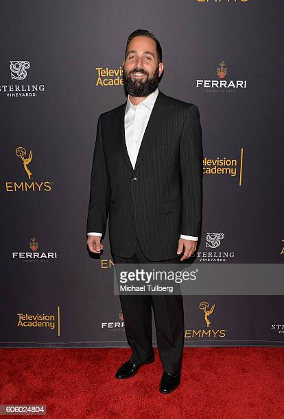 Producer Hale Rothstein attends Television Academy's event celebrating Emmynominated producers for the 68th Emmy Awards at Montage Beverly Hills on...