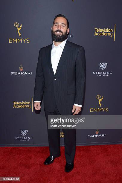 Producer Hale Rothstein attends the Television Academy hosts reception for EmmyNominated producers at Montage Beverly Hills on September 15 2016 in...