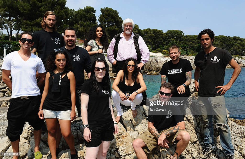 Producers Mohammed Al Turki and Hamza Talhouni Host Sea Shepherd Lunch Honoring Michelle Rodriguez And Paul Watson - 64th Annual Cannes Film Festival