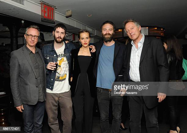 Producer Hans Ritter actor Jim Sturgess model/actress Isabel Lucas director Tristan Patterson and President and CEO of Miriad Pictures Kirk D'Amico...