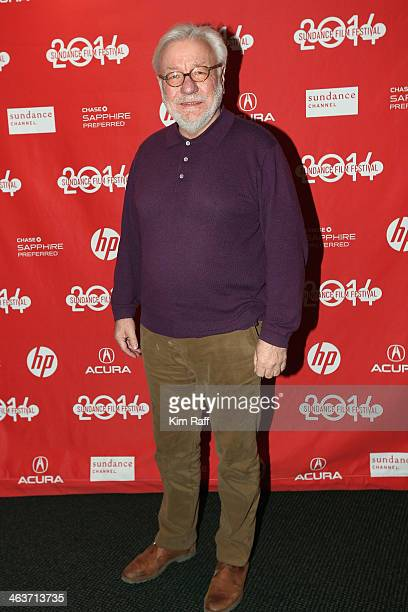 Producer Hans Robert Eisenhauer attends the premiere of 'Return To Homs' at the Temple Theater during the 2014 Sundance Film Festival on January 18...