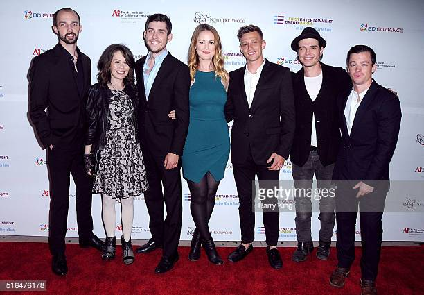 Producer Harry Bellenie actress Alexis Dziena producer Geoffrey Makowski actress Aynsley Bubbico director Mike Perrone actors Matthew Lawrence and...