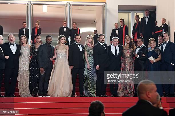 Producer Harvey Weinstein actress Georgina Chapman actor UsherGrace Miguel actress Ana de Armas actor Edgar Ramirez director Jonathan Jakubowicz...