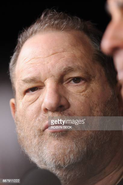 Producer Harvey Weinstein and Colony Capital CEO Thomas J Barrack Jr attend the premiere of 'August Osage County' December 16 2013 at the Regal...
