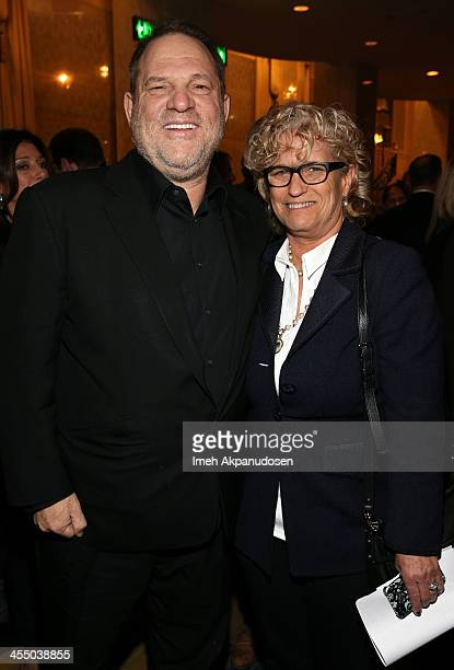 Producer Harvey Weinstein and Editor in Chief Film at Variety Claudia Eller attend the 33rd annual Variety Home Entertainment Hall of Fame on...