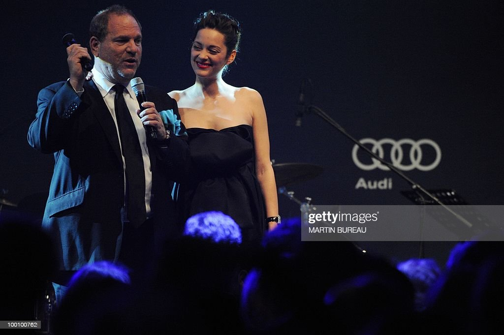 US producer Harvey Weinstein and French
