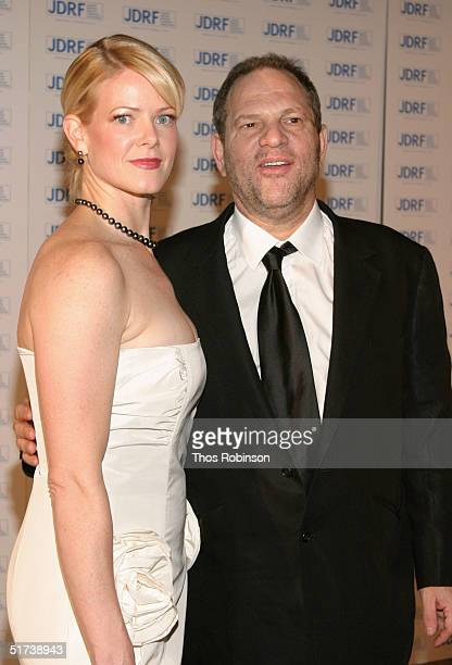 Producer Harvey Weinstein and his wife Eve Chilton Weinstein attend the Annual Promise Ball at the American Museum of Natural History on November 13...