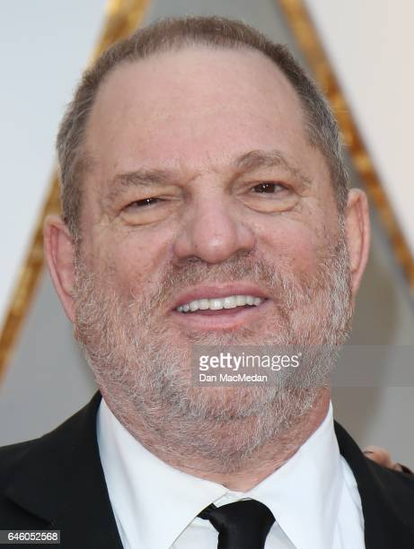 Producer Harvey Weinstein arrives at the 89th Annual Academy Awards at Hollywood Highland Center on February 26 2017 in Hollywood California