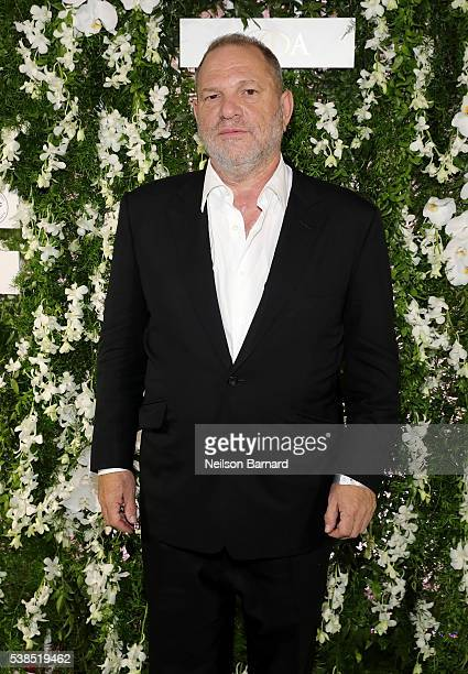 Producer Harvey Weinstein arrives at the official 2016 CFDA Fashion Awards after party hosted by Samsung 837 in NYC on June 6 2016 in New York City