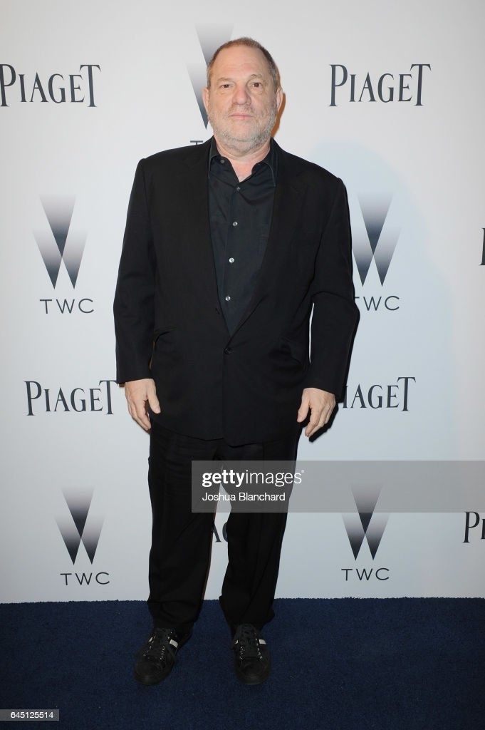 Producer Harvey Weinstein attends a cocktail party to kick-off Independent Spirit Awards and Oscar weekend hosted by Piaget and The Weinstein Company on February 24, 2017 in Los Angeles, California.