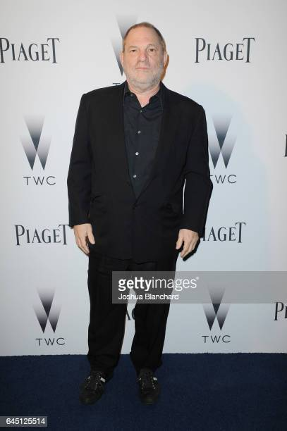 Producer Harvey Weinstein attends a cocktail party to kickoff Independent Spirit Awards and Oscar weekend hosted by Piaget and The Weinstein Company...