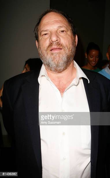 Producer Harvey Weinstein attends Kathy Freston's celebration of her new book 'Quantum Wellness' on June 4 2008 at Stephen Weiss Studio in New York...