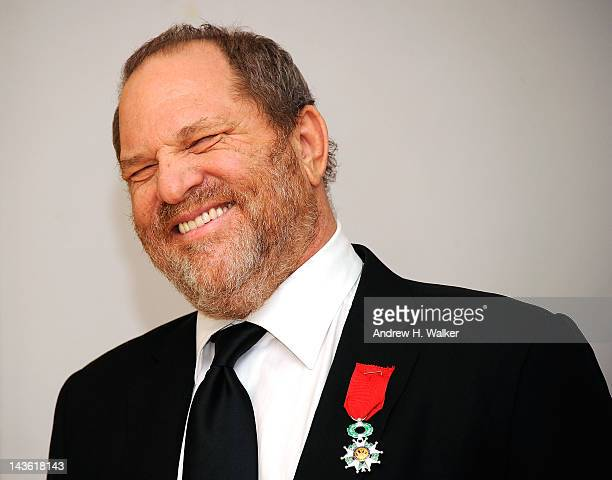 """Producer Harvey Weinstein attends Moet & Chandon toast for Harvey Weinstein's Legion D'honneur and screening of """"The Intouchables"""" with the..."""