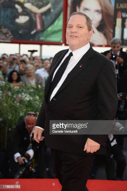"""Producer Harvey Weinstein attends """"Philomena"""" Premiere during the 70th Venice International Film Festival at Sala Grande on August 31, 2013 in..."""
