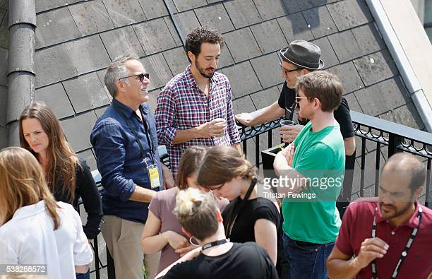 Producer Heather Rae Sundance Film Festival Director John Cooper Director Josh Kriegman Director Jeff Feuerzeig and Director John Maclean attend the...
