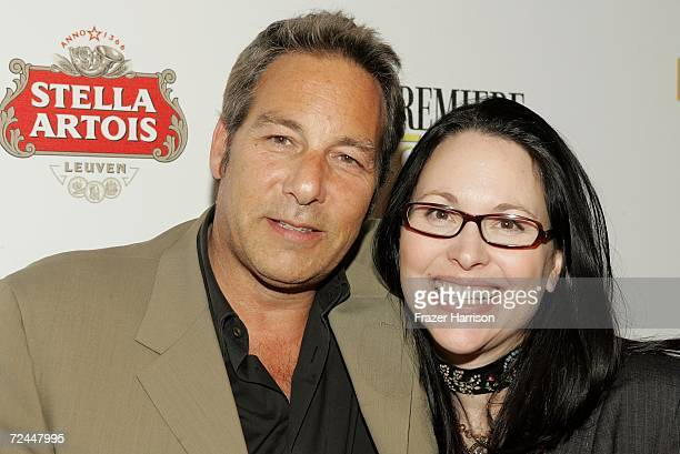 """Producer Henry Winterstern and Writer/Director Karen Moncrieff arrive at the Premiere Lounge after party for """"The Dead Girl"""" during AFI FEST 2006..."""