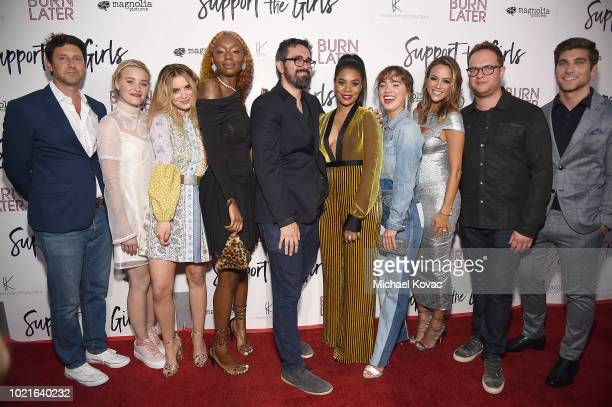 Producer Houston King actresses AJ Michalka Dylan Gelula Shayna McHayle writer/director Andrew Bujalski actresses Regina Hall Haley Lu Richardson...