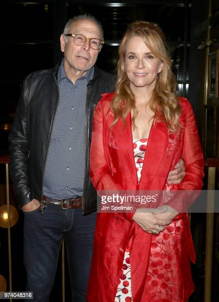 Producer Howard Deutch and director/actress Lea Thompson attend the screening after party for 'The Year Of Spectacular Men' hosted by MarVista...