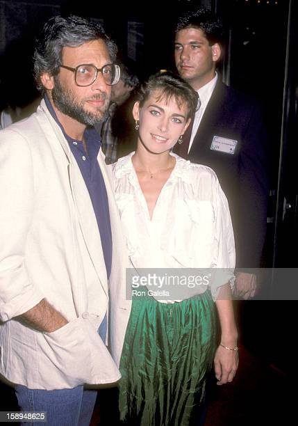 Producer Howard Koch Jr and actress Joanna Pacula attend the Amadeus Westwood Premiere on September 6 1984 at UA Coronet Theater in Westwood...