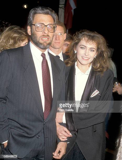 Producer Howard Koch Jr and actress Joanna Pacula attend the Out of Africa Century City Premiere on December 10 1985 at Plitt's Century Plaza...