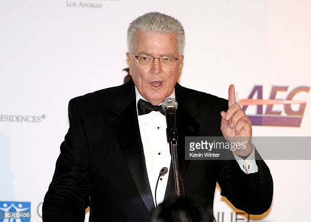 Producer Huell Howser appears onstage at City of Hope's Music and Entertainment Industry's Spirit of Life Gala in the Diamond Ballroom at the...