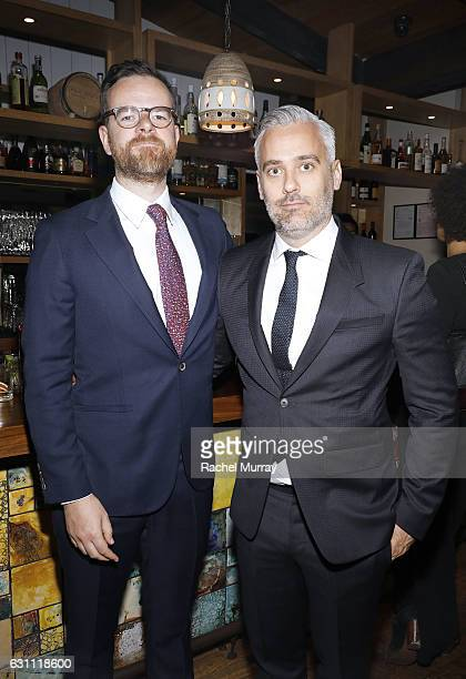 Producer Iain Canning attends a special screening and reception of LION hosted by David O'Russell and Lee Daniels celebrating director Garth Davis at...