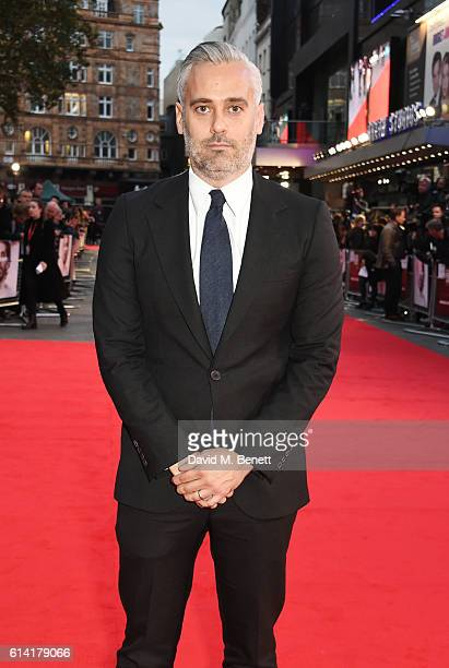 Producer Iain Canning attends the 'Lion' American Express Gala screening during the 60th BFI London Film Festival at Odeon Leicester Square on...