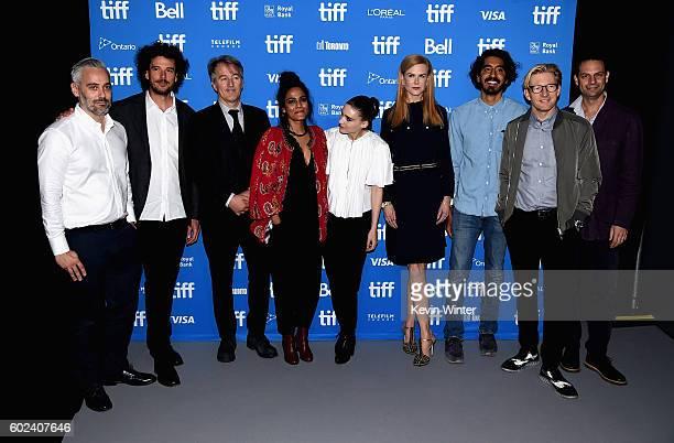 Producer Iain Canning, director Garth Davis, screenwriter Iain Canning, actors Priyanka Bose, Rooney Mara, Nicole Kidman, Dev Patel, David Wenham and...