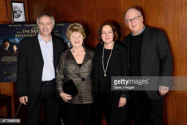 Producer Ian Sharples Annette Badland executive producer Paula Mazur and producer Robert Mickelson attend the UK premiere of 'The Man Who Invented...
