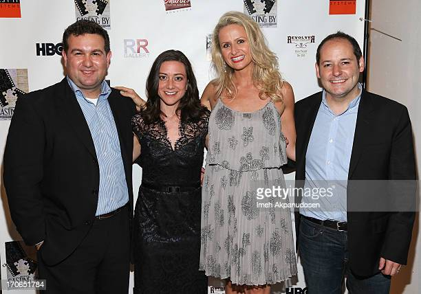 Producer Ilan Arboleda editor Jill Schweitzer producer Kate Lacey and director Tom Donahue attend the 'Casting By' Los Angeles Film Festival...