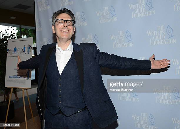 Producer Ira Glass arrives at the premiere of IFC Films' Sleepwalk With Me at the Writers Guild Theater on August 28 2012 in Beverly Hills California