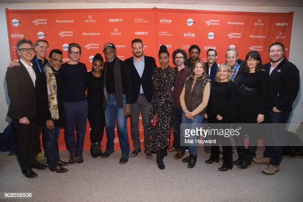 Producer Ira Glass Producer James D Stern Bishop Carlton Pearson writer Marcus Hinchey Stacey Sargeant Danny Glover Jason Segel Condola Rashad...