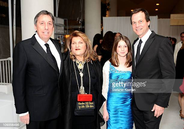 Producer Ivan Reitman Honoree costume designer Julie Weiss Lydia Paxton and actor Bill Paxton arrive at the 13th Annual Costume Designers Guild...