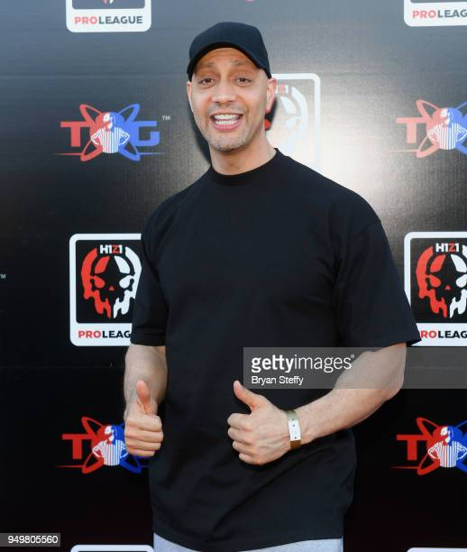 Producer Jace Hall attends opening weekend of the Twin Galaxies H1Z1 Pro League At Caesars Entertainment Studios on April 21 2018 in Las Vegas Nevada