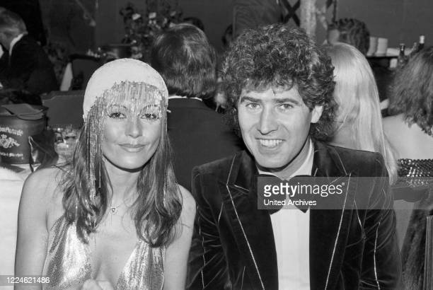 Producer Jack White with Marie Louise Gassen at the Deutscher Filmball on January 15th 1980 at Munich Germany 1980s