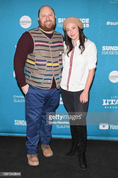 Producer Jacob Perlin and Executive Producer Nina Soriano attend the Indie Episodic Program 1 during the 2019 Sundance Film Festival at Prospector...