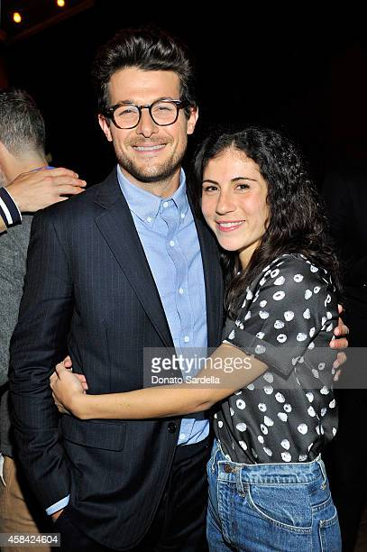 Producer Jacob Soboroff and Nicole Cari attend the private dinner to celebrate Scott Sternberg and 10 Years of Band of Outsiders hosted by Barneys...
