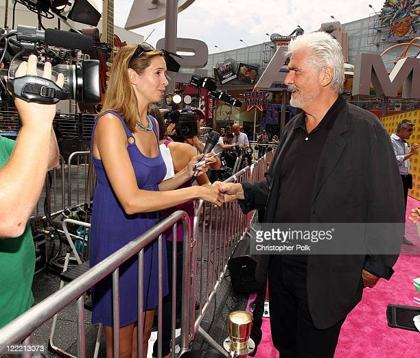 Producer James Brolin arrives at the premiere of 'Standing Ovation' at Universal AMC CityWalk Stadium 19 Cinemas on July 10 2010 in Universal City...