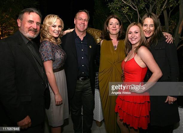 Producer James Egan actress Danielle Savre Palm Springs Mayor Steve Pougnet director Gwen Wynne actresses Skye McCole Bartusiak and Anne Ramsay...