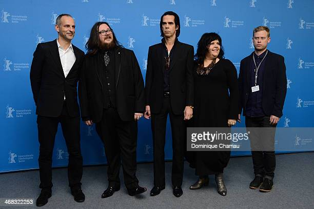 Producer James Wilson, director Iain Forsyth, actor and singer Nick Cave, director Jane Pollard and producer Dan Bowen attend the '20.000 Days on...