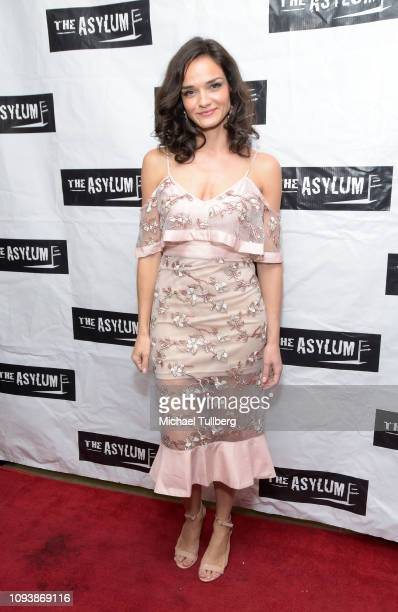 Producer Jamie Bernadette attends the Los Angeles premiere of The Asylum's The 6th Friend at The Downtown Independent on January 13 2019 in Los...
