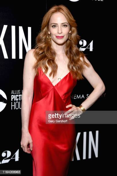 Producer Jamie Ray Newman attends Allusionist Pictures and Cinema Society's special screening of A24's Skin at The Roxy Cinema on July 24 2019 in New...