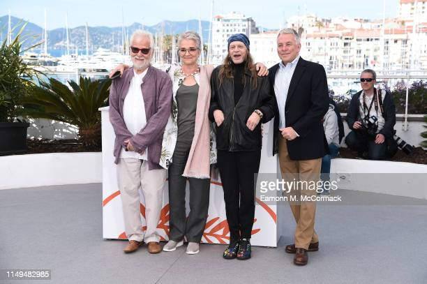 Producer Jan Harlan Katharina Kubrick Leon Vitali with guest attend the photocall for The Shining during the 72nd annual Cannes Film Festival on May...