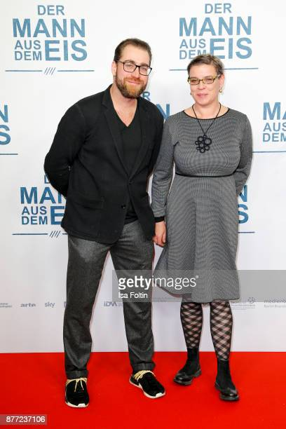 Producer Jan Krueger and guest attend the premiere of 'Der Mann aus dem Eis' at Zoo Palast on November 21 2017 in Berlin Germany