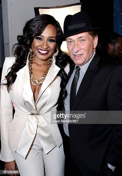 Producer Janell Snowden and singer Bobby Caldwell attend the Soul Train Awards 2013 at the Orleans Arena on November 8 2013 in Las Vegas Nevada