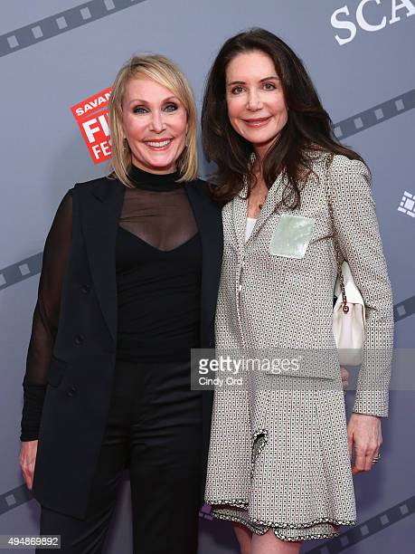 Producer Janet Brenner and Actress Lois Robbins attend Meg Ryan's Lifetime Award Presentation and Ithaca screening during 18th Annual Savannah Film...
